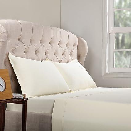Amazoncom Half Price Drapes Ccj Ivyss Twxl 100 Cotton Bed Sheet