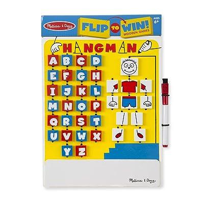 Melissa & Doug Flip-to-Win Hangman: Melissa & Doug: Toys & Games [5Bkhe2004553]