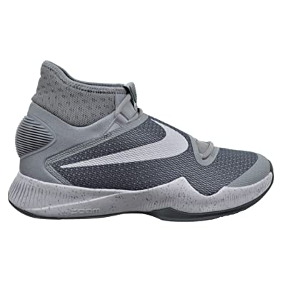 Nike Zoom Hyperrev 2016 Men's Shoes Wolf Grey/White/Cool Grey 820224-014