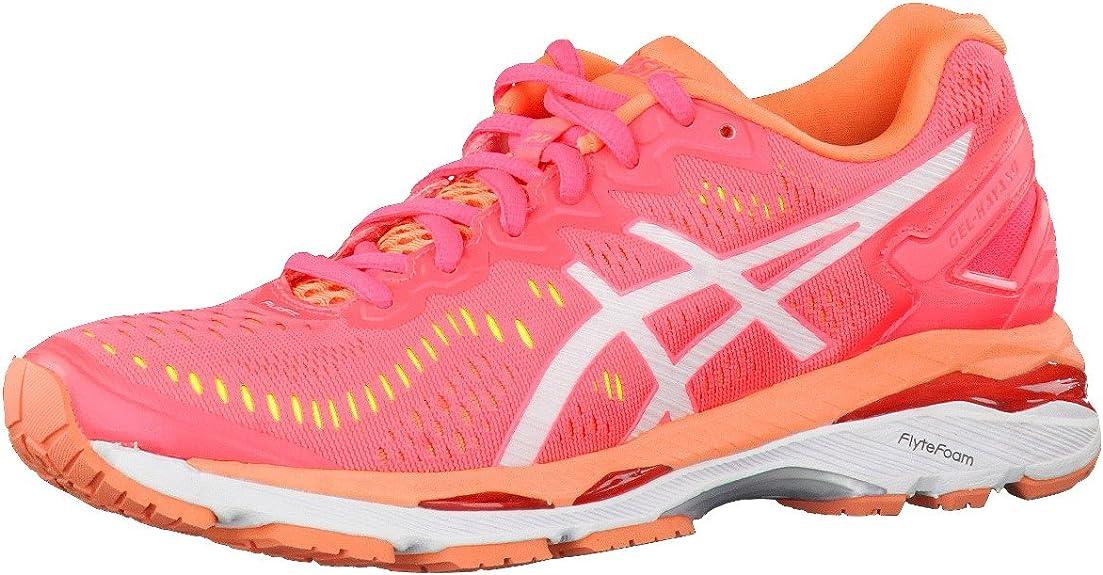 Asics Gel-Kayano 23 Zapatillas de running para mujer, color rosa, talla 46 EU: Amazon.es: Zapatos y complementos