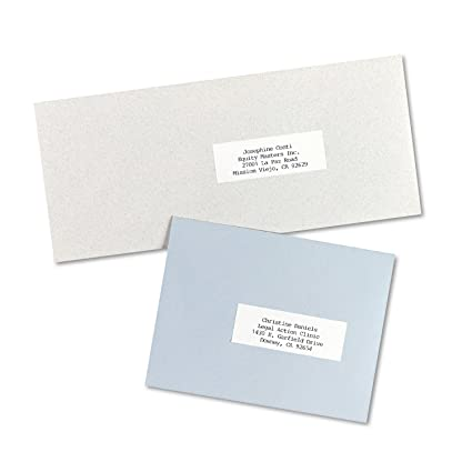 Amazon Avery Address Labels For Copiers 1 X 2 1316 Box Of