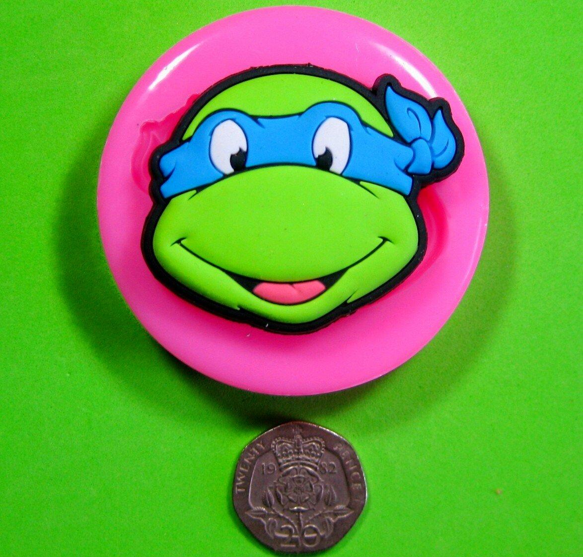 Tortugas Adolescentes Mutantes Ninja TMNT Molde de silicona ...