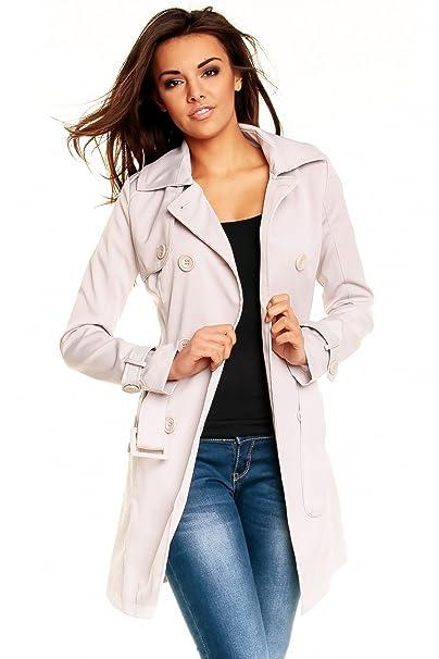 cheaper 0f4f4 7c578 Schicker Damen Trenchcoat Mantel Kurzmantel Jacke Blazer / 3 Farben