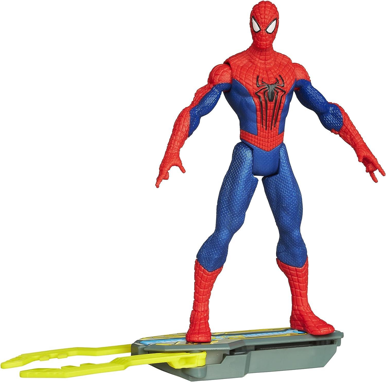 Amazing Spider-Man 2 Spider Strike 3.75 IN Figure-Choc Surge Spider-Man UK! environ 9.52 cm