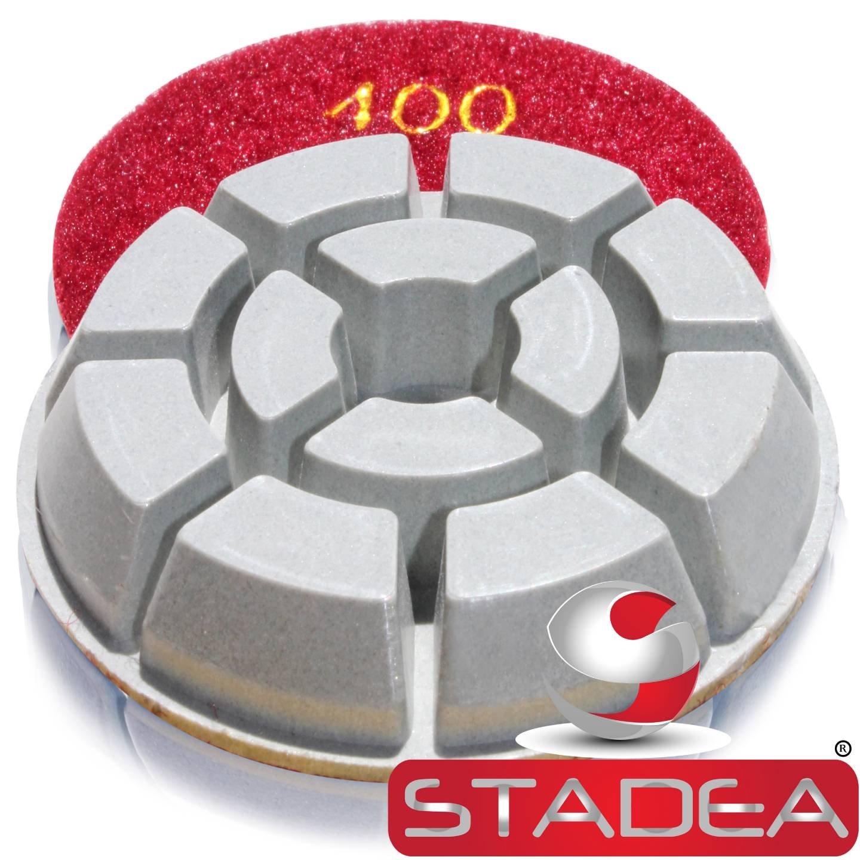concrete granite floor polishing pads - Grit 400 By Stadea