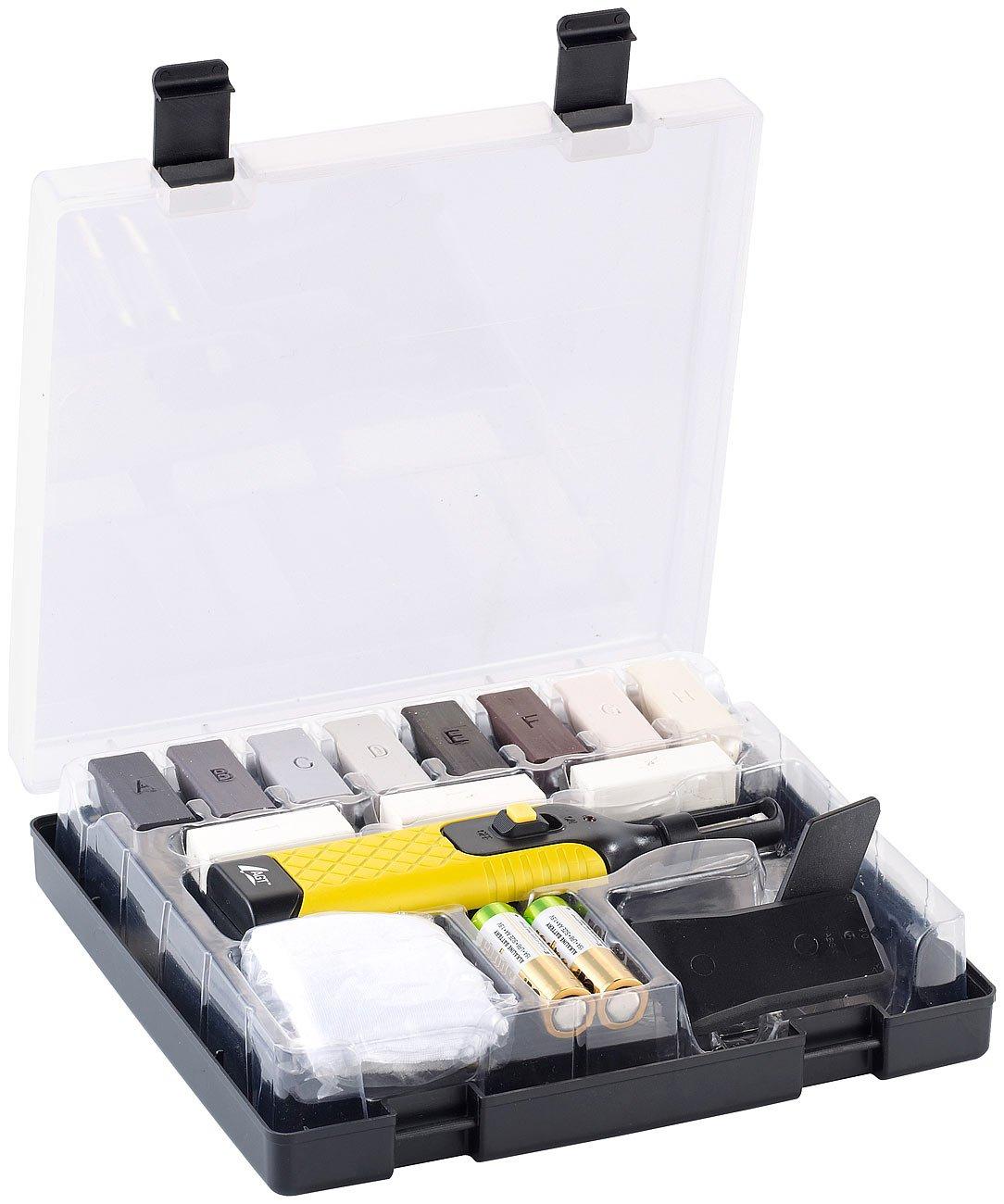 AGT Kit de ré paration 5263 NX Set de WRS 11 pvl surfaces de ré paration pour plan de travail en plastique) NX-5263