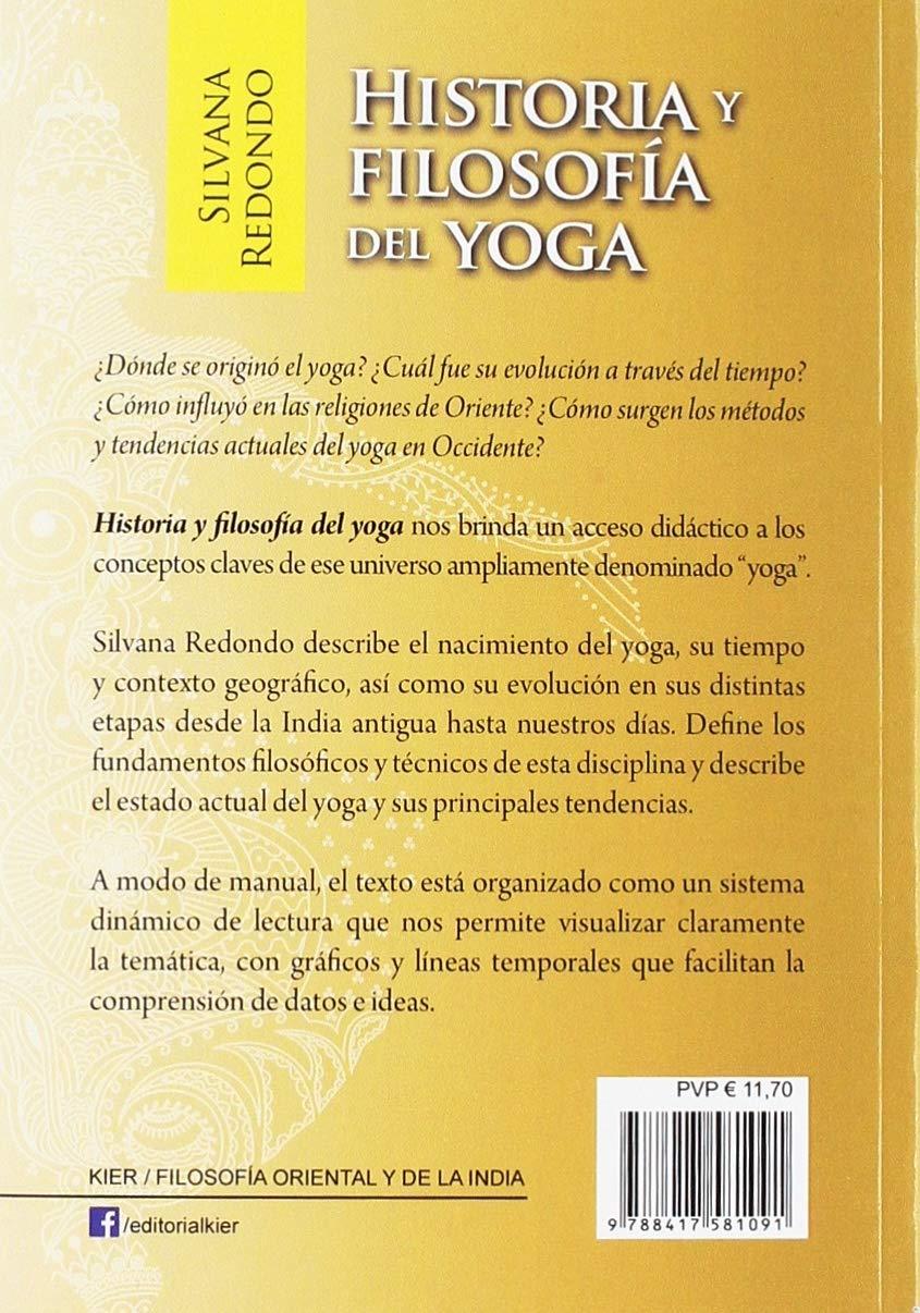 Historia y filosofía del Yoga: Silvana Redondo ...