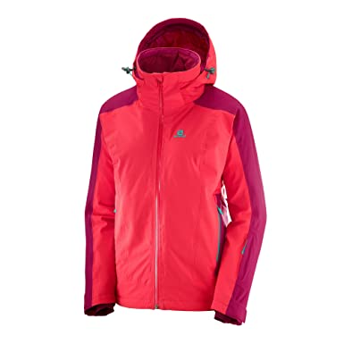 Salomon Brilliant Jacket Damen: : Bekleidung