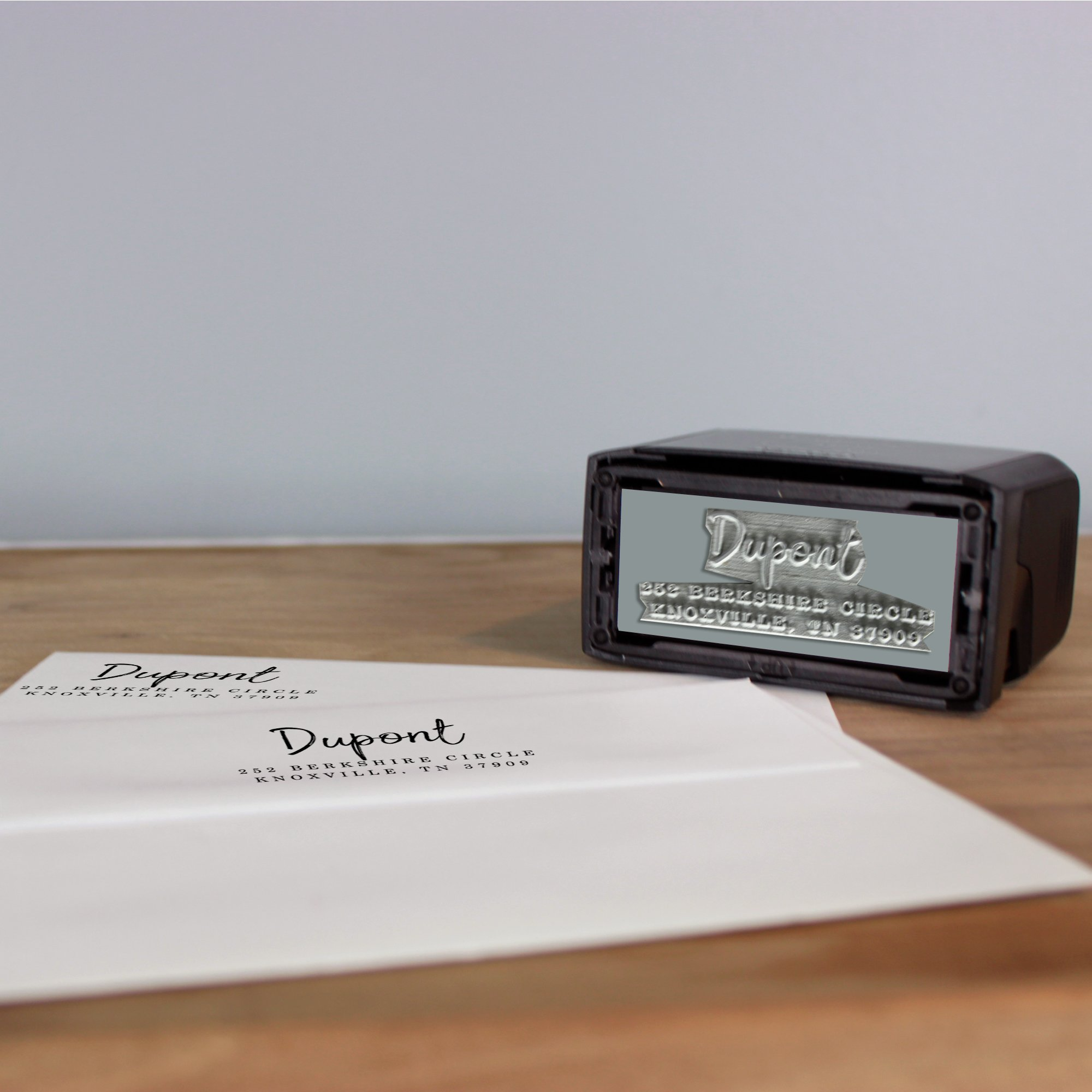 Dupont Self Inking Return Address Stamp