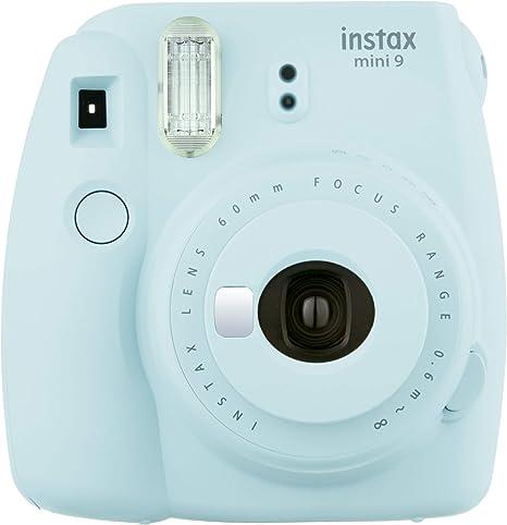 Oferta amazon: Fujifilm Instax Mini 9 - Cámara instantánea, Cámara con 1x10 películas, Azul