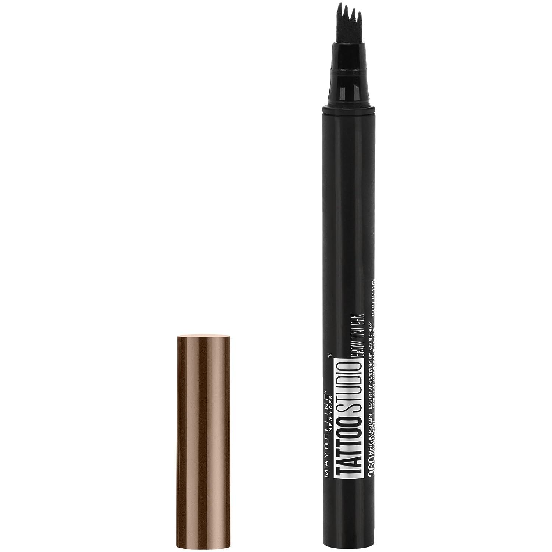 Maybelline New York Tattoo Studio Brow Tint Pen Makeup, Blonde, 0.037 fl. oz. 041554545012