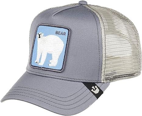 Goorin Bros Trucker Cap Bearrr/Bear Grey - One-Size: Amazon.es ...