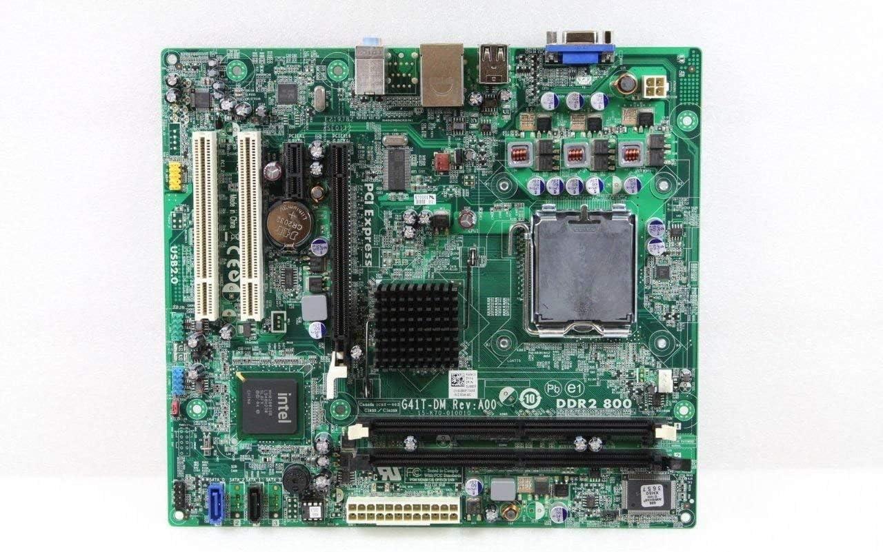 Dell Inspiron 537 Desktop G41T-DM Motherboard- U880P