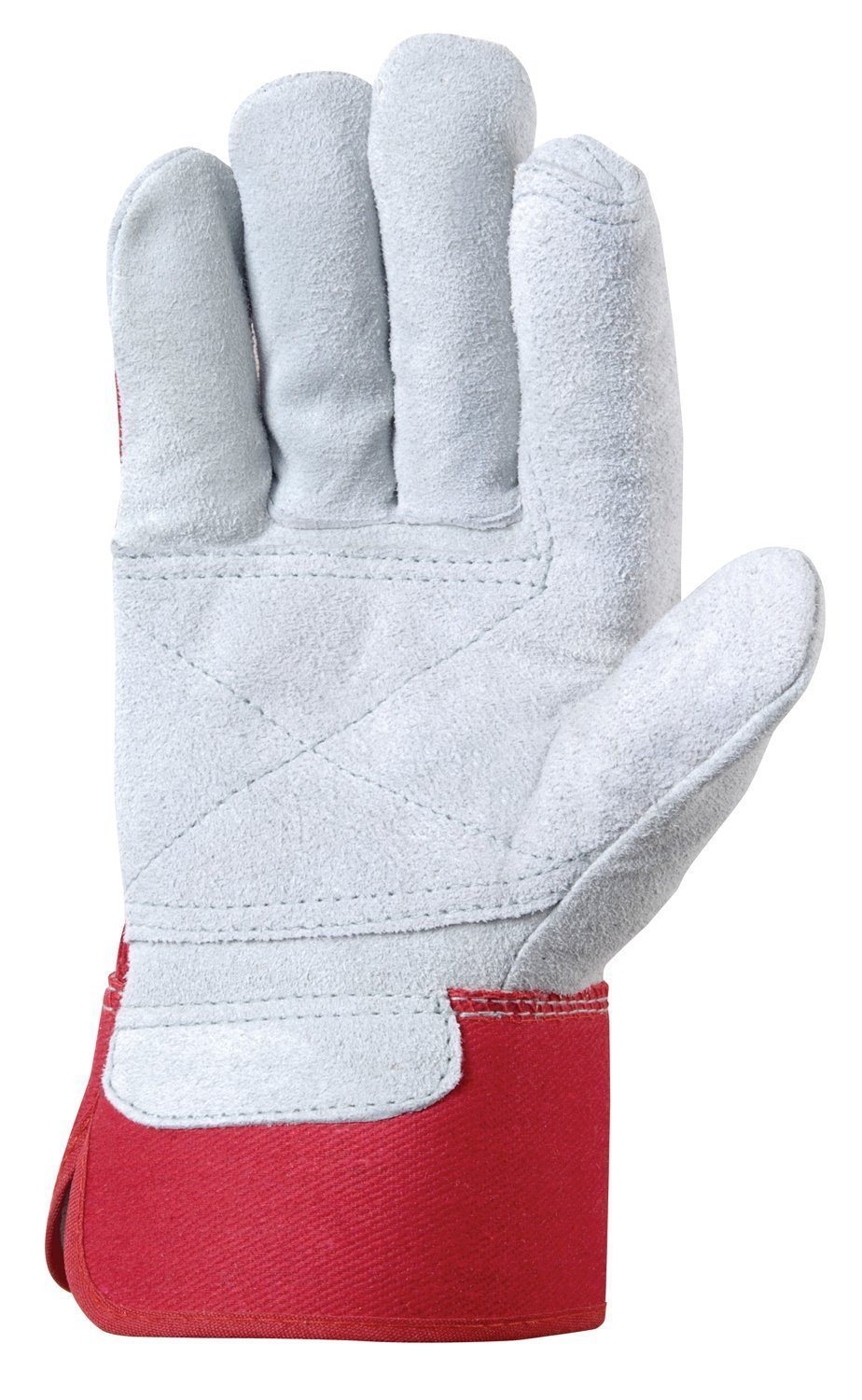 Insulated leather work gloves amazon - Wells Lamont Leather Work Gloves With Safety Cuff Double Palm Split Cowhide One Size 4050 Work Gloves Men Amazon Com