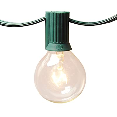 Lumabase 39101 25 Lights Globe String Lights : Garden & Outdoor