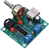 Icstation PM2038 2X5W Stereo Audio Amplifier Board 5V USB Powered Adjustable Volume