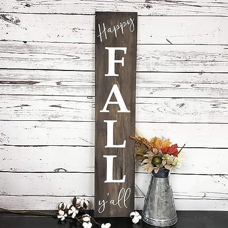 Amazon.com: Señal de bienvenida JokeKKK000 Happy Fall Yall ...