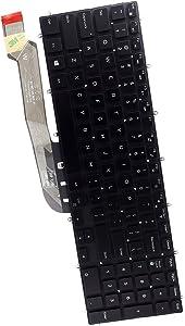 Deal4GO US Laptop Backlit Keyboard 3NVJK 03NVJK for Dell Inspiron 5565 5567 5570 5575 5587 5765 5767 5770 5775 7566 7567 7568 7577 7588 7773 7778 7779