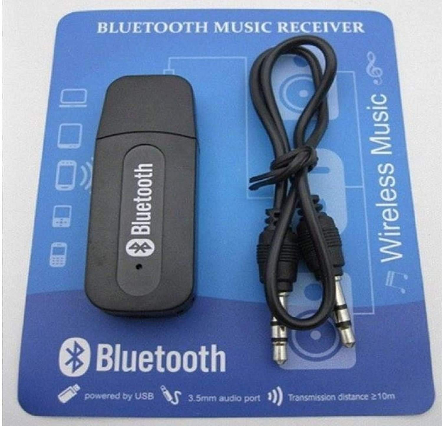 ICALL Universal Wireless USB Bluetooth Receiver Adapter Dongle for Home  Theatre Car Speakers MP10