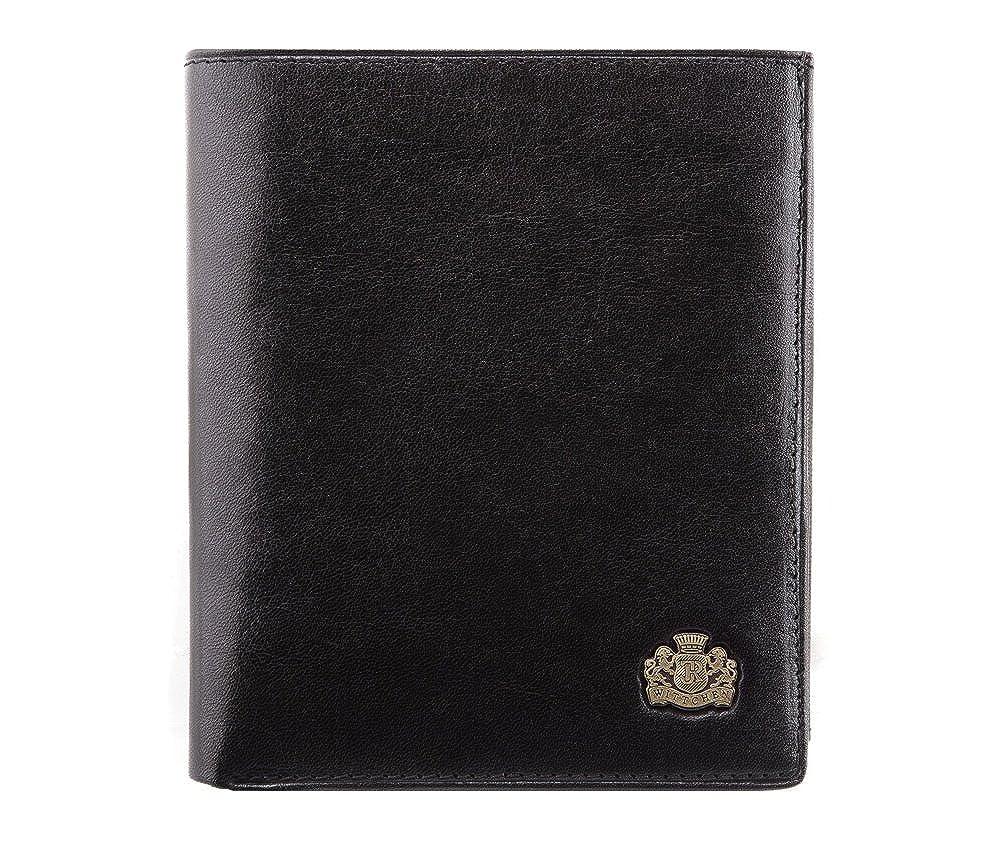 Wittchen Geldbörse/Geldbeutel Narbenleder | Elegant Ledergeldbörse etui | 11x12,5 cm