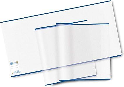 5 Buchhüllen in 3 Größen Schutzhülle Buch Bucheinband Umschlag Buchumschläge