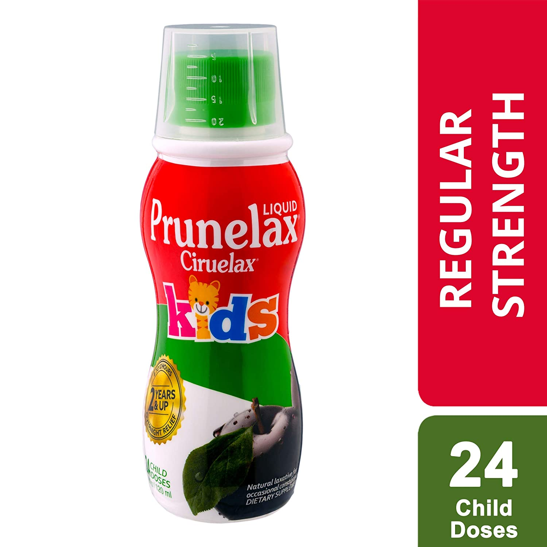 Prunelax Ciruelax Natural Laxative Regular Liquid for Kids, 4 05 fl oz