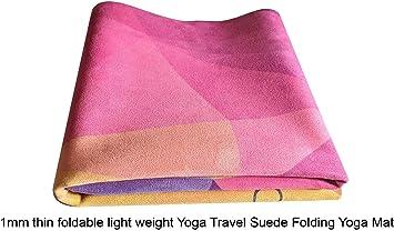Oeco Plus 1.5mm Printed Microfiber Printed Designs Travel Yoga Mat