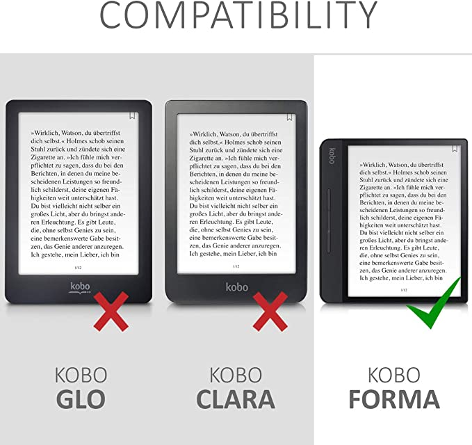 kwmobile Funda para Kobo Forma: Amazon.es: Electrónica