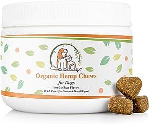 Sweepstakes: Valerio Organic Dog Hemp Chews 90ct. Natural