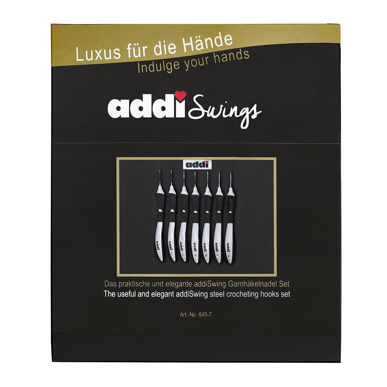 Elige 9 ADDI Swing Ganchos de ganchillo 2-6mm Mango Ergonómico