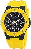 Guess W11619G5 - Reloj para hombre con correa de caucho, color negro / gris