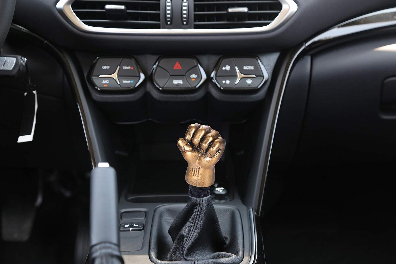 Black Transmission Aluminum Alloy Short Gear Shift Nob for Most Manual Truck SUV Cars Bashineng 3.3 Inch Length Car Stick Shifter Knob