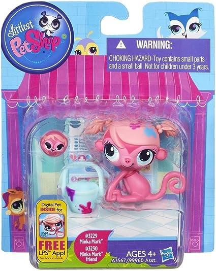 Amazon Com Littlest Pet Shop Minka Mark And Friend Favorite Pets 3229 And 3230 Toys Games