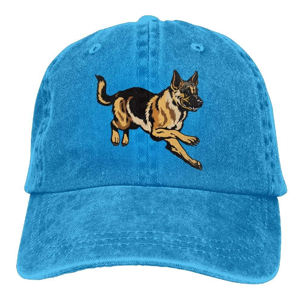 78dfe91bf0e HNE NQA Baseball Jeans Cap Dog German Shepherd Men Snapback Caps Adjustable Baseball  Cap at Amazon Men s Clothing store