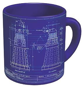 The Unemployed Philosophers Guild Dalek Genesis Mug, 16 ounce