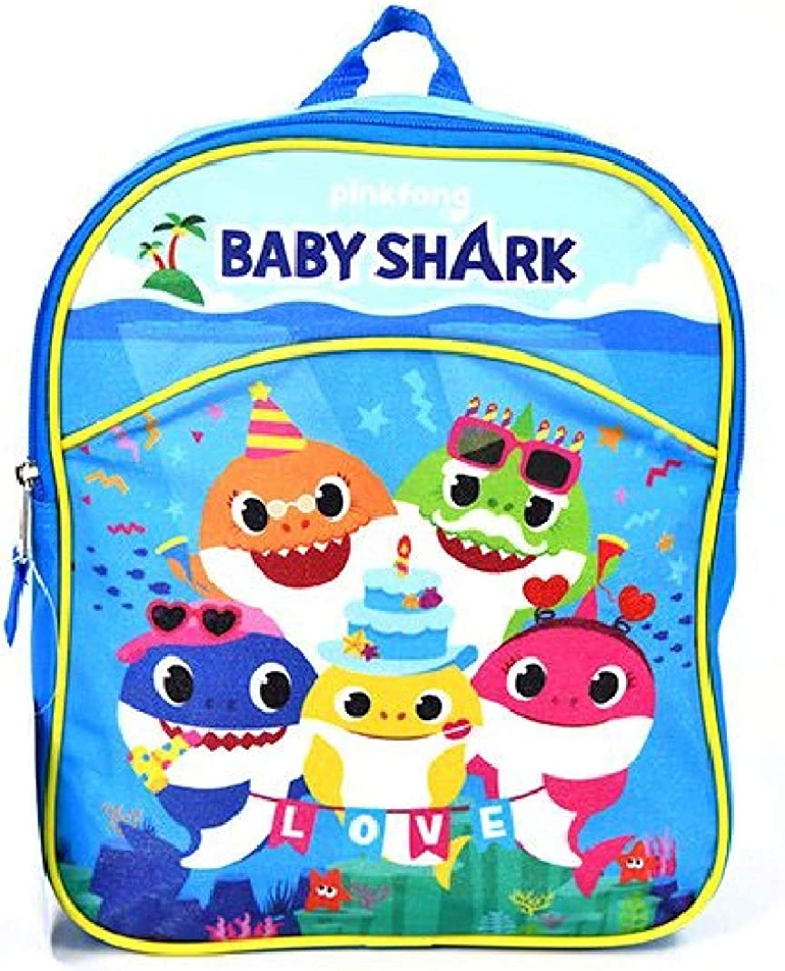 "5 Baby Shark 11"" Mini Backpack"