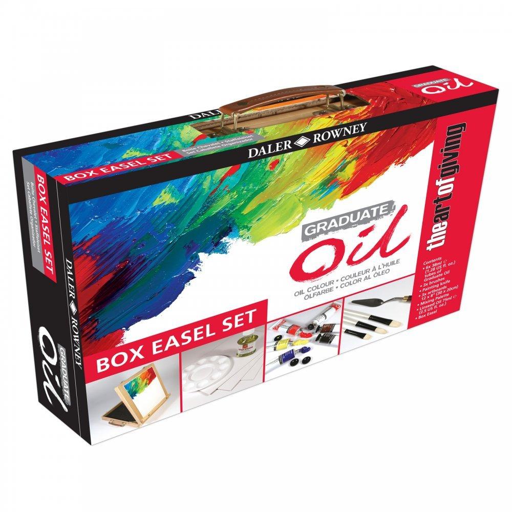 Daler Rowney Graduate Oil - Box Easel Set