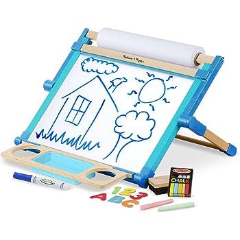 Amazon Com Melissa Amp Doug Wooden Magnetic Tabletop Art