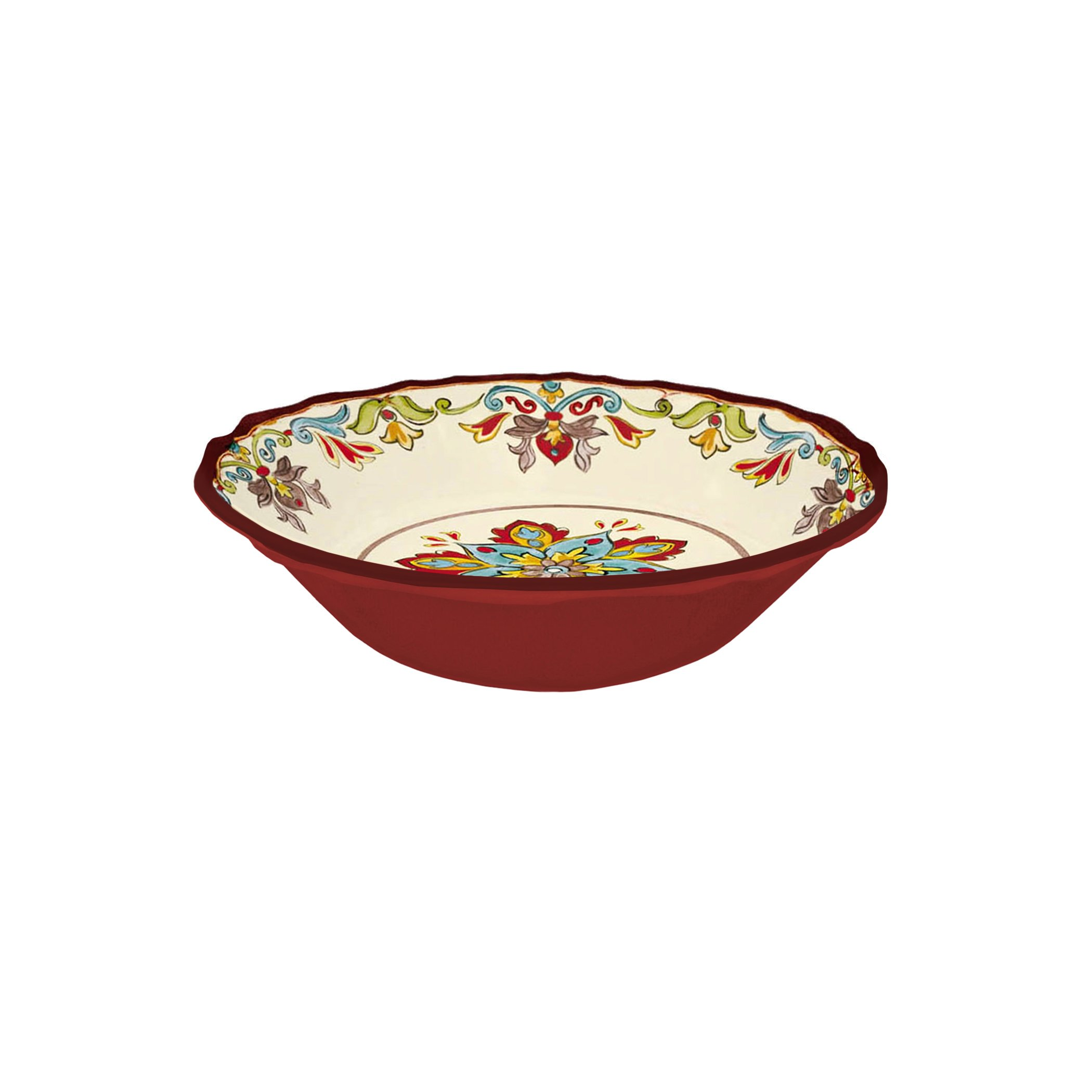 Case of 8 Le Cadeaux Autumn Blossom Cereal Bowls