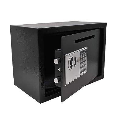 Caja Fuerte de Depósito Electrónica Anti Bounce: Amazon.es: Industria, empresas y ciencia