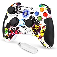 EasySMX PC-controller, 2.4G Wireless PS3 Gamepad, Dual Vibration voor PS3/PC/Android TV-box