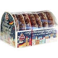 Wicklein Original Nürnberger Gingerbread, Fine Oblaten Glazed Lebkuchen, German Cookies, 200g