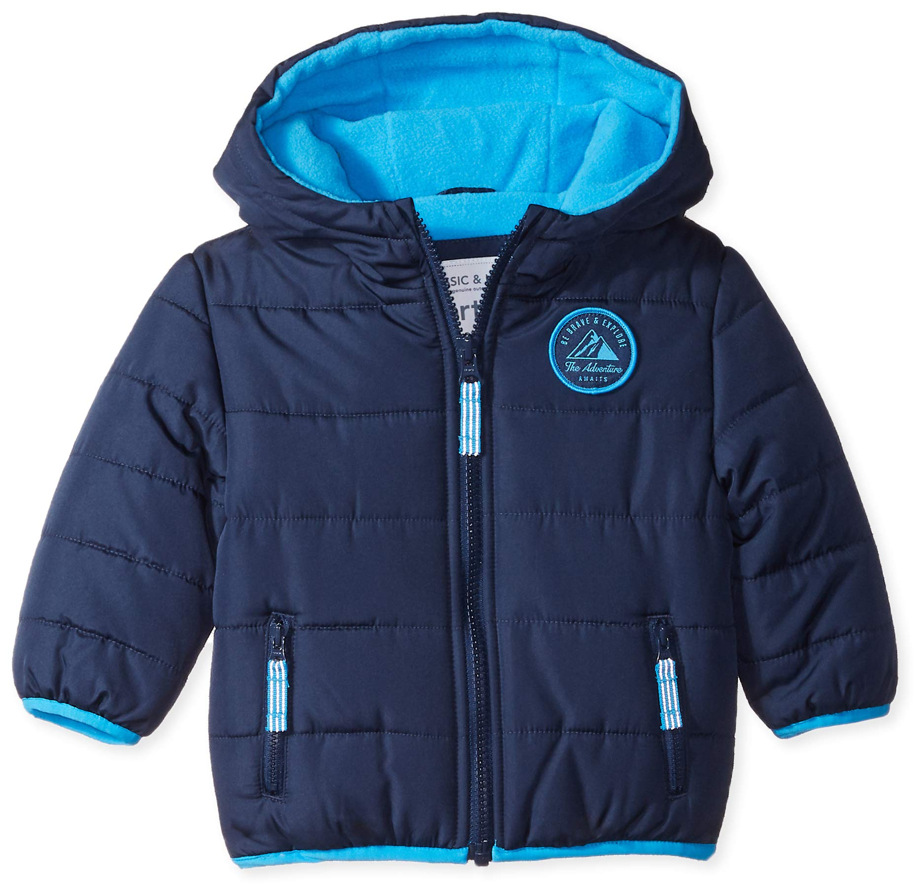 Carter's Baby Boys Adventure Bubble Jacket, Current Navy, 24M by Carter's