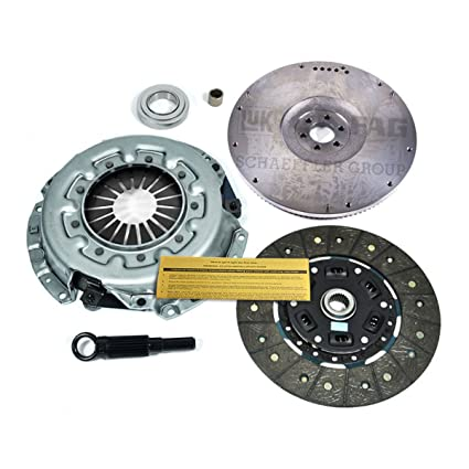 Amazon.com: EF HEAVY-DUTY CLUTCH KIT & LUK FLYWHEEL for 87-89 NISSAN 300ZX TURBO 3.0L Z31: Automotive