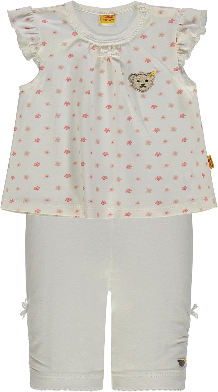 Steiff Flower Garden Girls Set T-Shirt und Capri Leggings