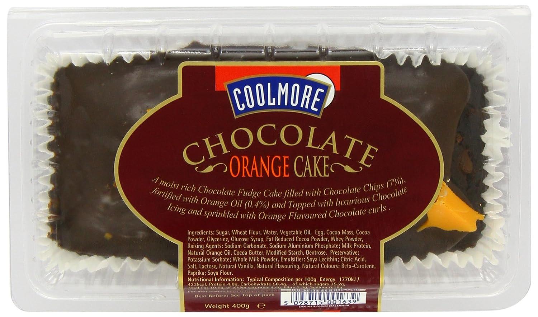 Coolmore Foods Chocolate Orange Cake (Pack of 3)