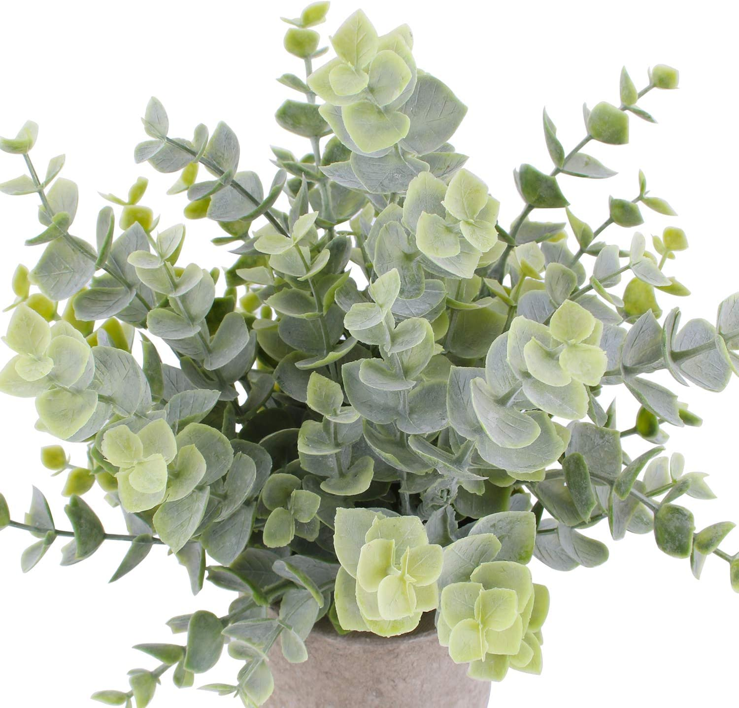 3 Pack Mini Artificial Potted Plants Faux Eucalyptus Plants Boxwood Rosemary Greenery In Pots Small Houseplants For Home Decor Office Desk Shower Room Decoration Artificial Plants Greenery