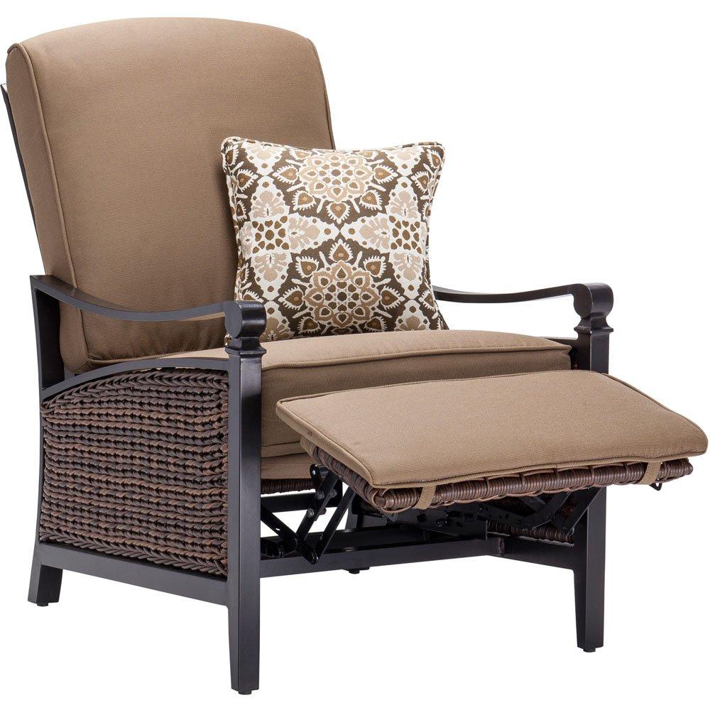 Amazon.com : La Z Boy Outdoor Carson Luxury Recliner, Mocha : Patio, Lawn U0026  Garden