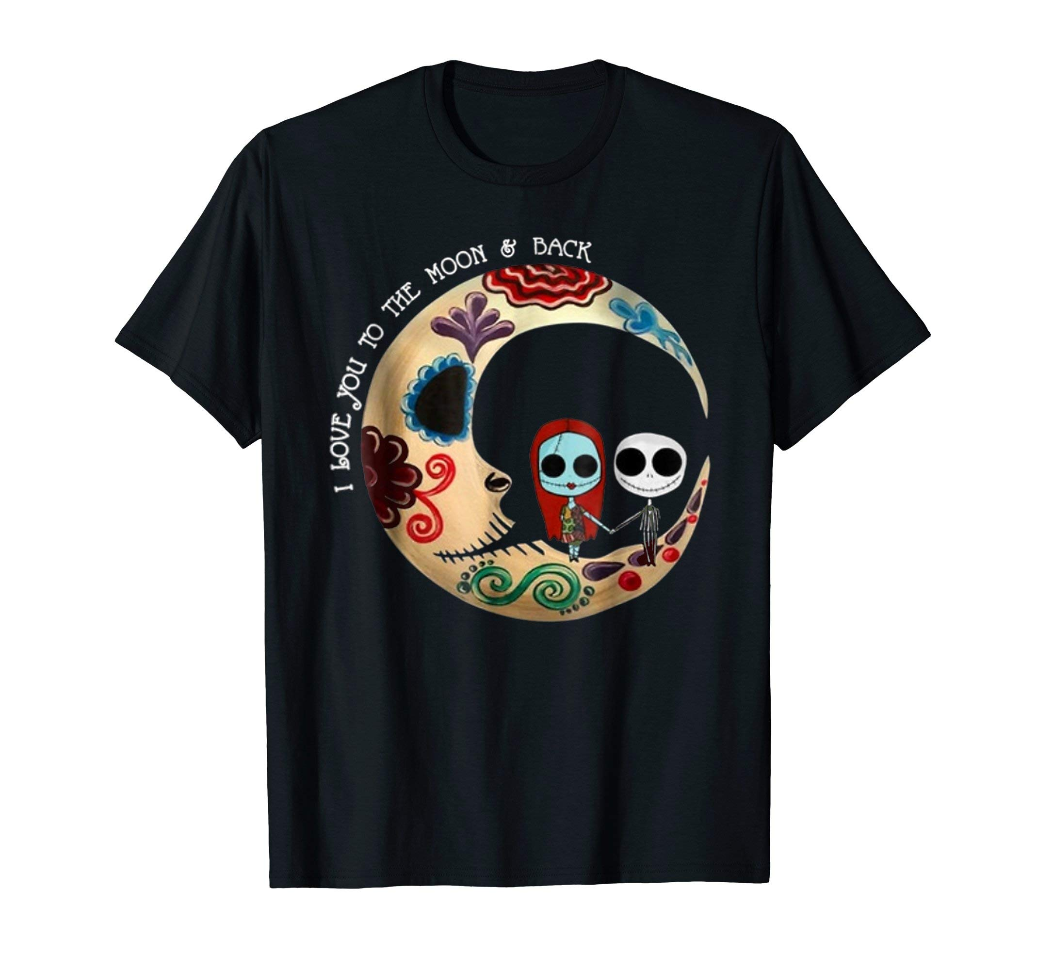 Halloween I Love You To The Moon & Back Shirt for Women Men