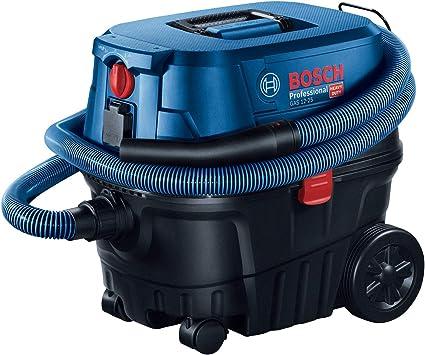 Bosch 060197C100 Professional Gas 12-25 PL-Aspiradora en seco y húmedo con Enchufe y función de soplado, 25 litros, 1250 W: Amazon.es: Bricolaje y herramientas